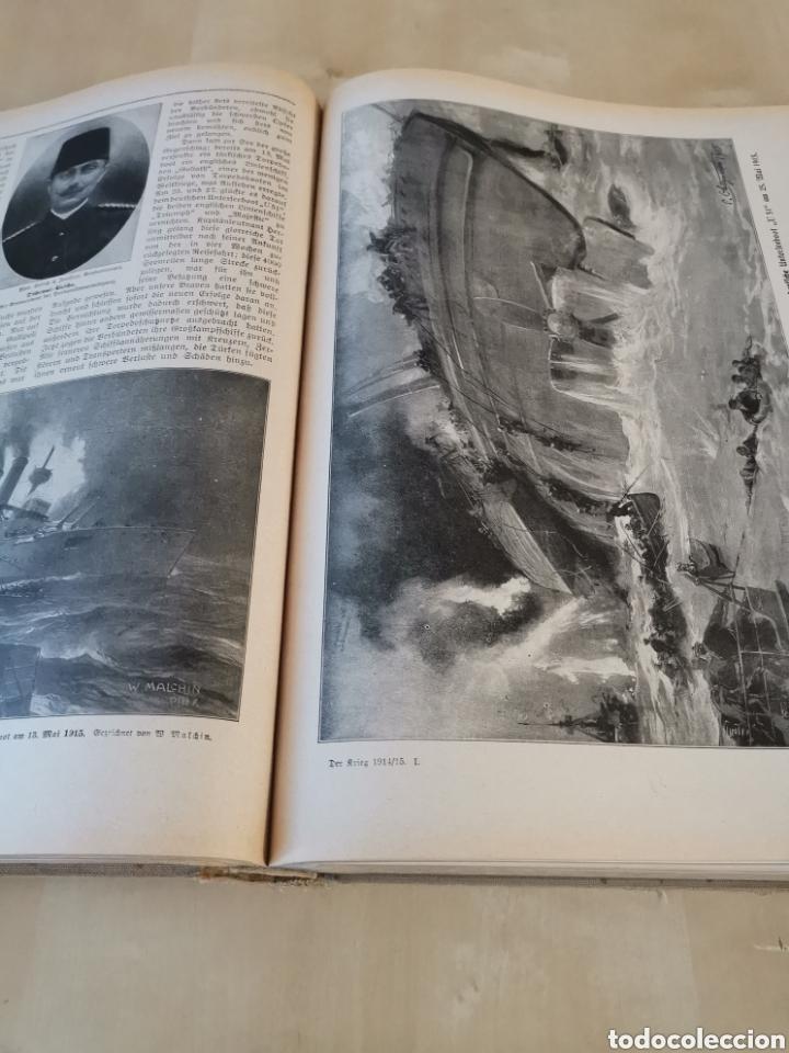 Libros antiguos: DER KRIEG 1914 COMPLETO 3 TOMOS I GUERRA MUNDIAL - Foto 6 - 196291196