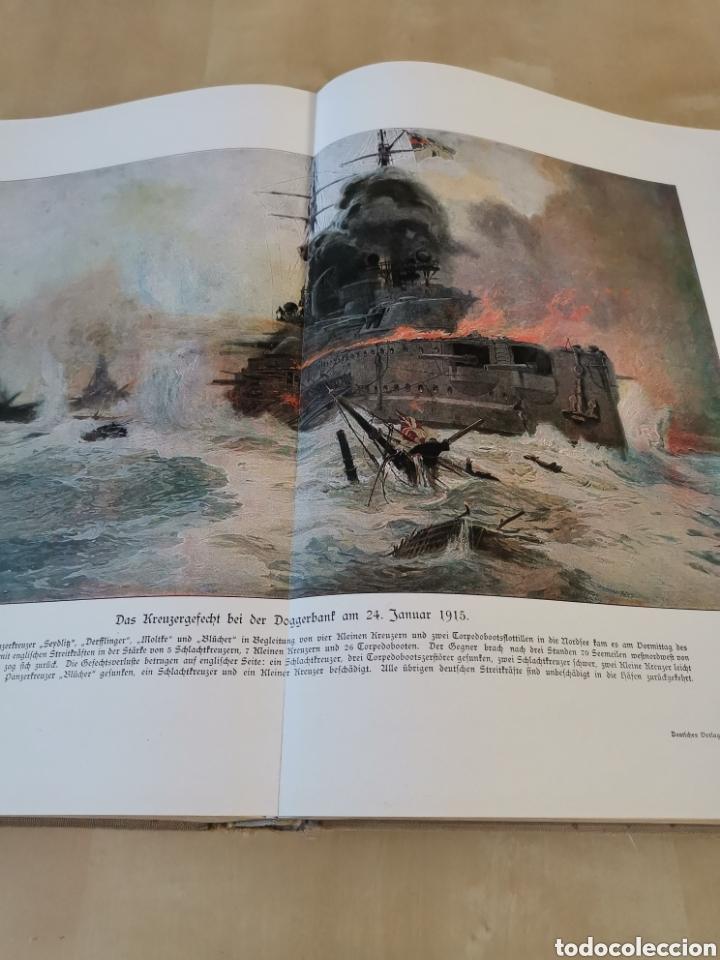 Libros antiguos: DER KRIEG 1914 COMPLETO 3 TOMOS I GUERRA MUNDIAL - Foto 7 - 196291196