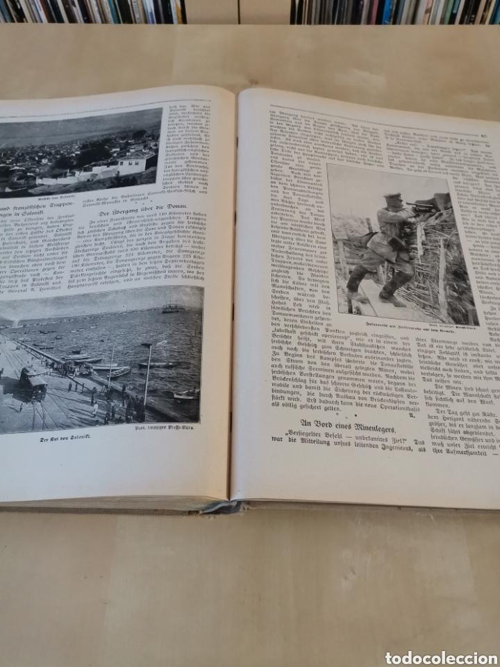 Libros antiguos: DER KRIEG 1914 COMPLETO 3 TOMOS I GUERRA MUNDIAL - Foto 8 - 196291196