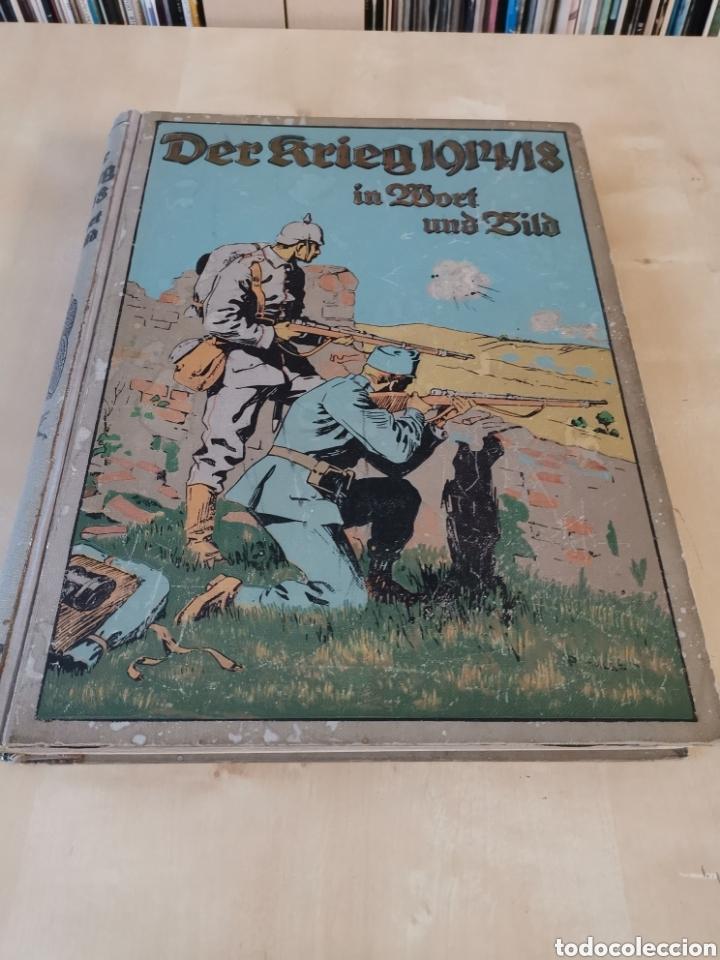 Libros antiguos: DER KRIEG 1914 COMPLETO 3 TOMOS I GUERRA MUNDIAL - Foto 9 - 196291196