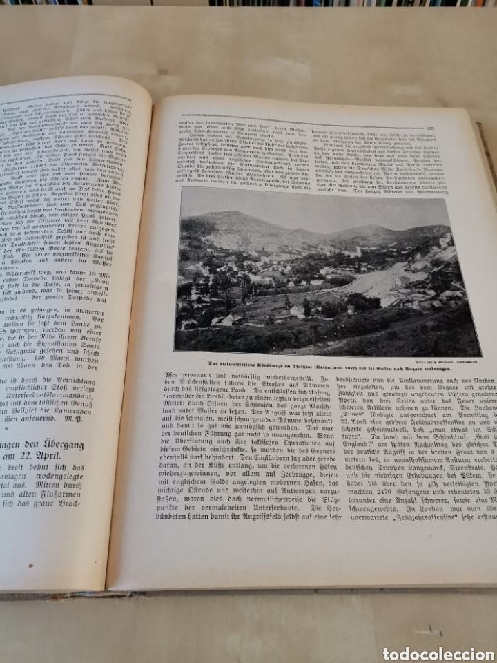 Libros antiguos: DER KRIEG 1914 COMPLETO 3 TOMOS I GUERRA MUNDIAL - Foto 11 - 196291196