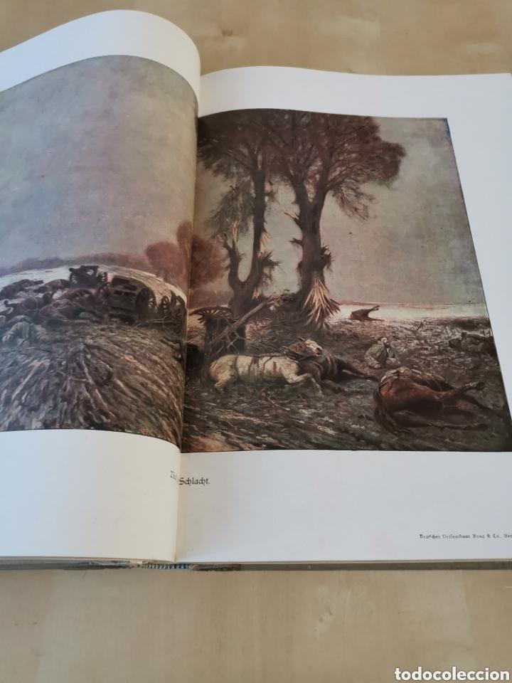 Libros antiguos: DER KRIEG 1914 COMPLETO 3 TOMOS I GUERRA MUNDIAL - Foto 12 - 196291196