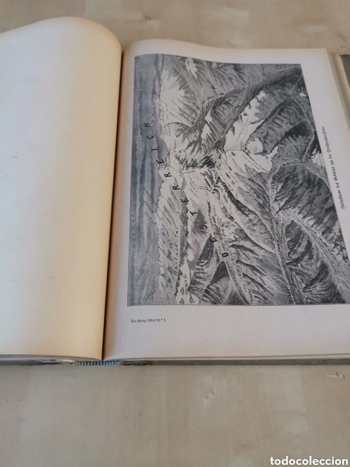 Libros antiguos: DER KRIEG 1914 COMPLETO 3 TOMOS I GUERRA MUNDIAL - Foto 13 - 196291196