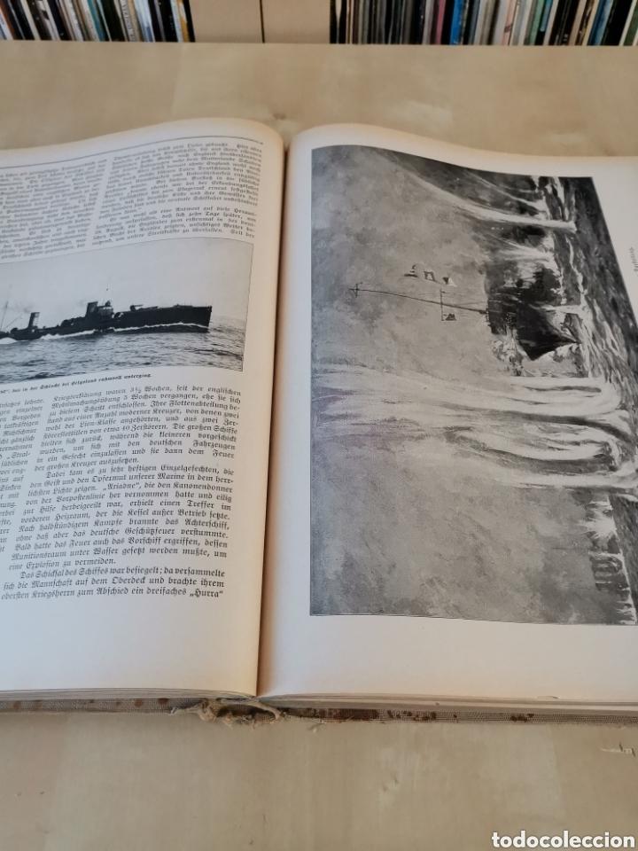 Libros antiguos: DER KRIEG 1914 COMPLETO 3 TOMOS I GUERRA MUNDIAL - Foto 14 - 196291196
