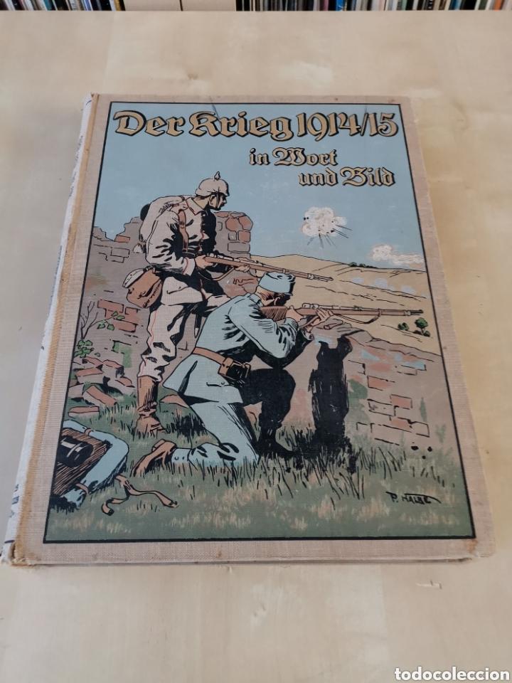 Libros antiguos: DER KRIEG 1914 COMPLETO 3 TOMOS I GUERRA MUNDIAL - Foto 15 - 196291196