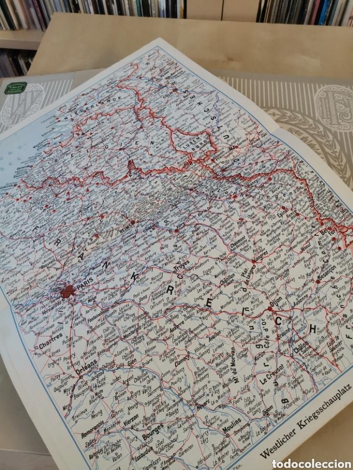 Libros antiguos: DER KRIEG 1914 COMPLETO 3 TOMOS I GUERRA MUNDIAL - Foto 16 - 196291196