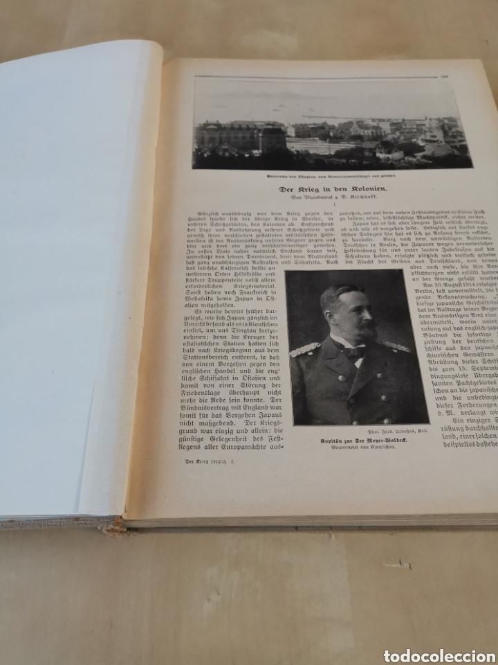 Libros antiguos: DER KRIEG 1914 COMPLETO 3 TOMOS I GUERRA MUNDIAL - Foto 17 - 196291196