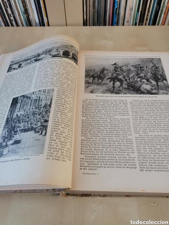 Libros antiguos: DER KRIEG 1914 COMPLETO 3 TOMOS I GUERRA MUNDIAL - Foto 19 - 196291196