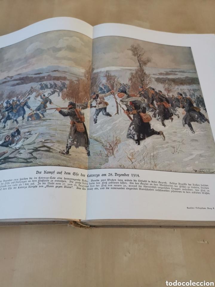 Libros antiguos: DER KRIEG 1914 COMPLETO 3 TOMOS I GUERRA MUNDIAL - Foto 20 - 196291196