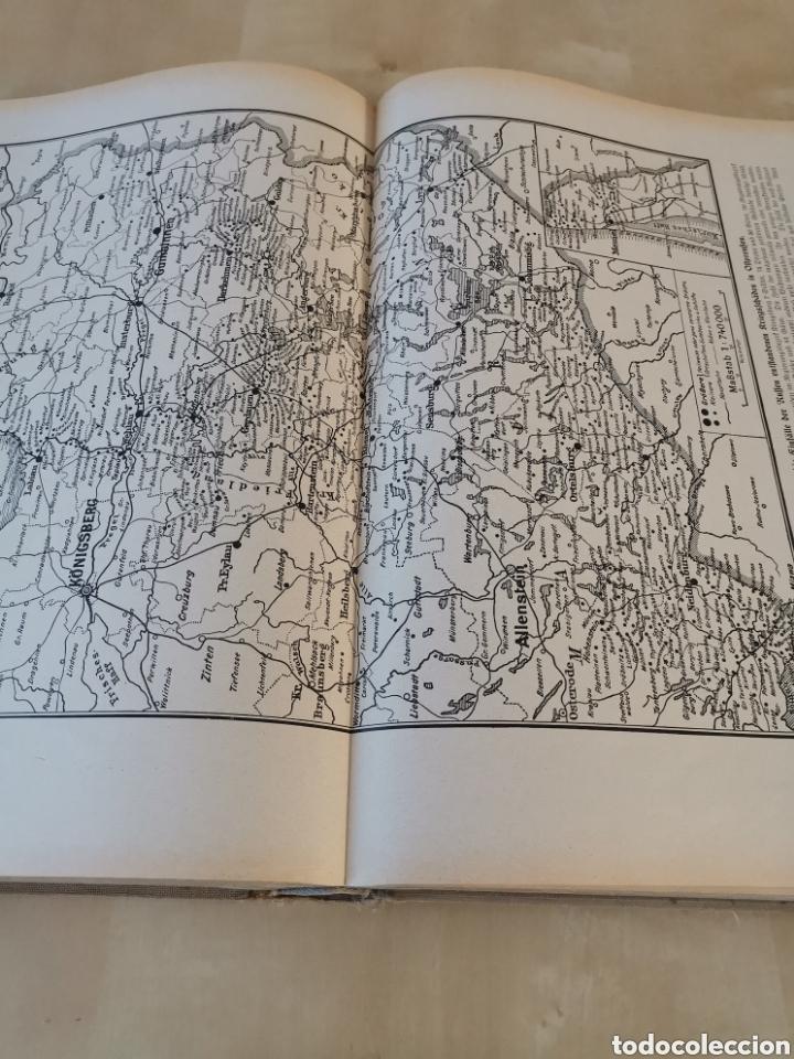 Libros antiguos: DER KRIEG 1914 COMPLETO 3 TOMOS I GUERRA MUNDIAL - Foto 21 - 196291196