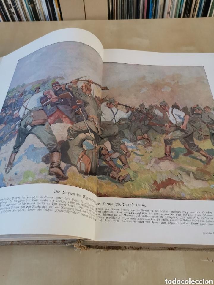 Libros antiguos: DER KRIEG 1914 COMPLETO 3 TOMOS I GUERRA MUNDIAL - Foto 22 - 196291196