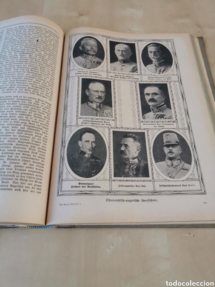 Libros antiguos: DER KRIEG 1914 COMPLETO 3 TOMOS I GUERRA MUNDIAL - Foto 24 - 196291196