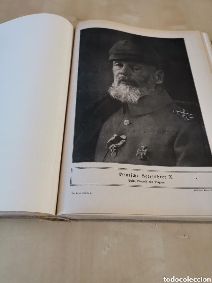 Libros antiguos: DER KRIEG 1914 COMPLETO 3 TOMOS I GUERRA MUNDIAL - Foto 25 - 196291196