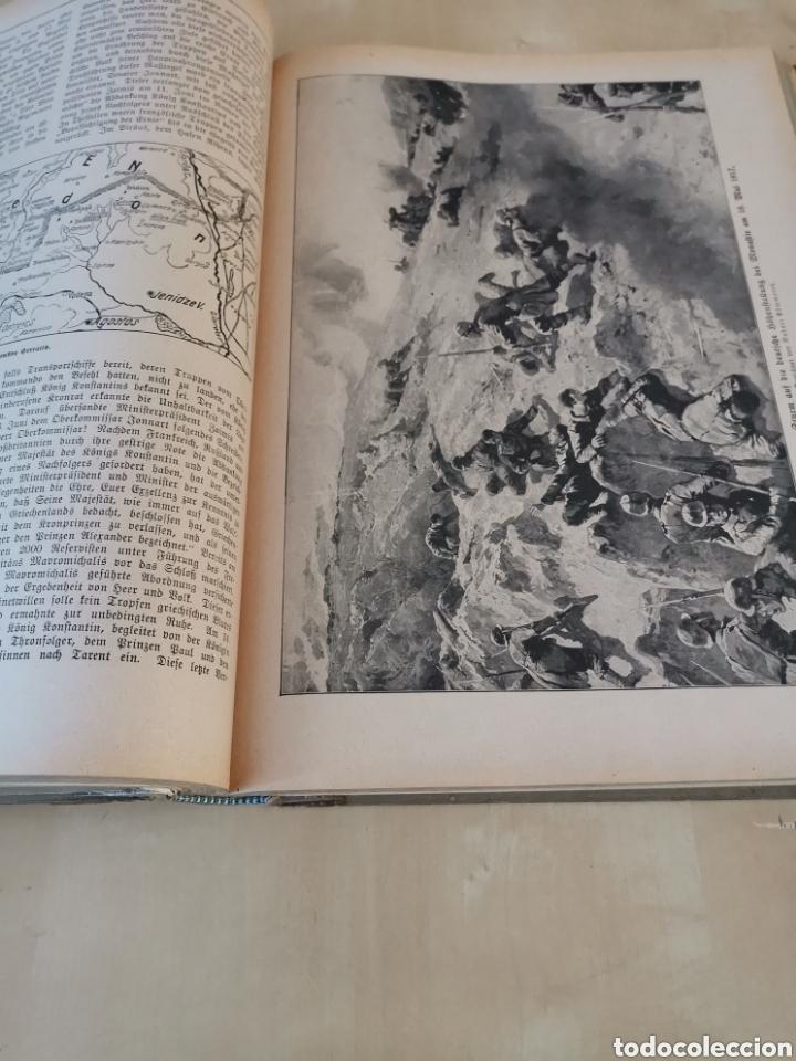Libros antiguos: DER KRIEG 1914 COMPLETO 3 TOMOS I GUERRA MUNDIAL - Foto 27 - 196291196