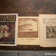Libros antiguos: TRES PUBLICACIONES DE LA PRIMERA GUERRA MUNDIAL. Lote 197067896