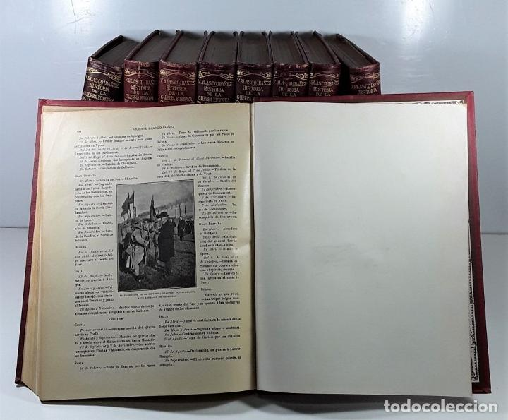 Libros antiguos: HISTORIA DE LA GUERRA EUROPEA DE 1914. 9 TOMOS. V. BLASCO. EDITO. PROMETEO. - Foto 11 - 197995776