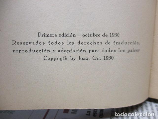 Libros antiguos: EL EMDEN. LAS HAZAÑAS DEL FAMOSO CRUCERO ALEMÁN. HELLMUTH VON MÜCKE. EDITOR JOAQUÍN GIL. 1ª Ed. 1930 - Foto 9 - 199687766