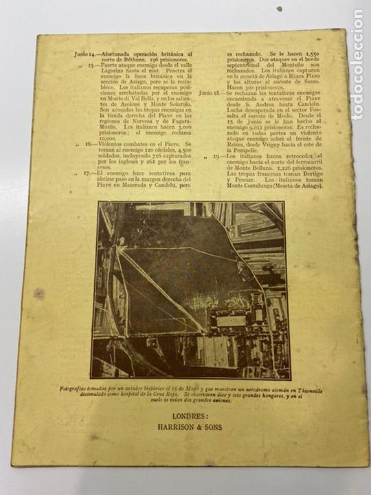 Libros antiguos: La Guerra en Junio 1918 - Foto 2 - 201164496
