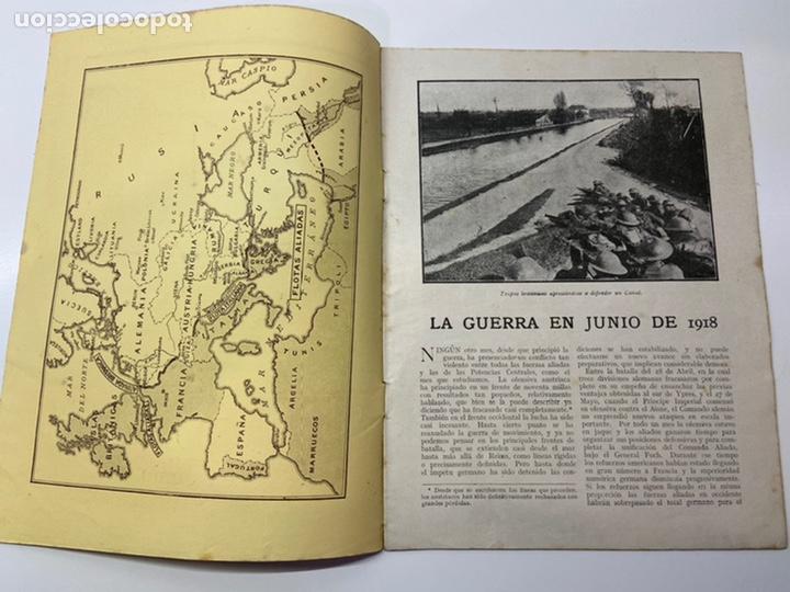 Libros antiguos: La Guerra en Junio 1918 - Foto 3 - 201164496