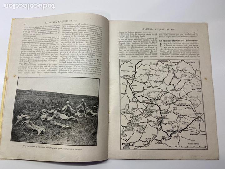 Libros antiguos: La Guerra en Junio 1918 - Foto 4 - 201164496