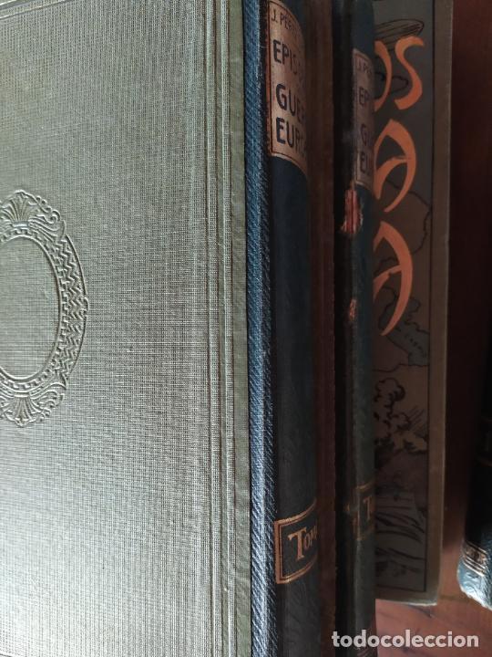 Libros antiguos: EPISODIOS DE LA GUERRA EUROPEA.TOMOS 1,2,3,4 JUAN PEREZ CARRASCO. BARCELONA. ALBERTO MARTÍN - Foto 3 - 201953936