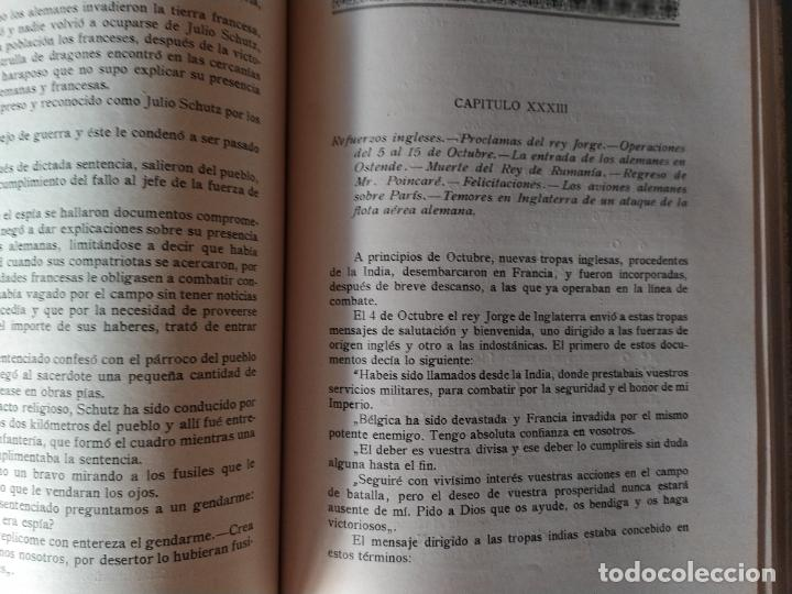Libros antiguos: EPISODIOS DE LA GUERRA EUROPEA.TOMOS 1,2,3,4 JUAN PEREZ CARRASCO. BARCELONA. ALBERTO MARTÍN - Foto 6 - 201953936