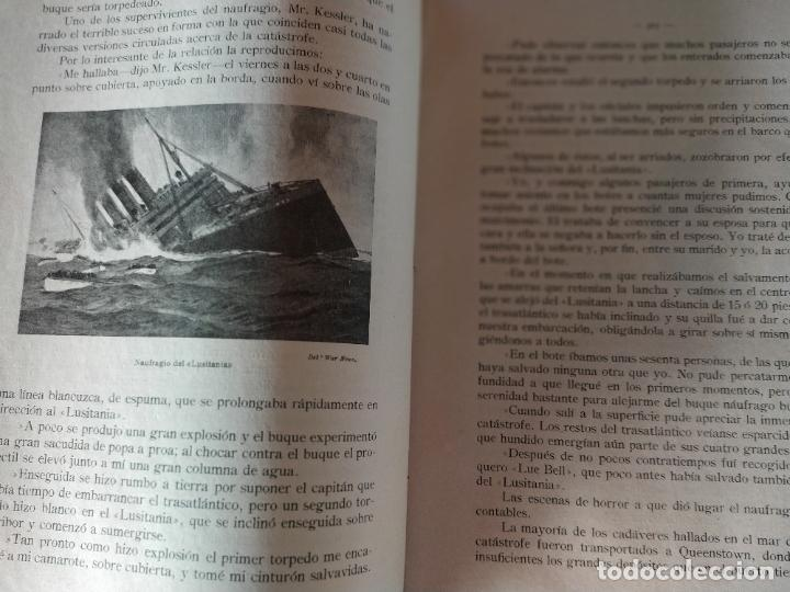 Libros antiguos: EPISODIOS DE LA GUERRA EUROPEA.TOMOS 1,2,3,4 JUAN PEREZ CARRASCO. BARCELONA. ALBERTO MARTÍN - Foto 10 - 201953936