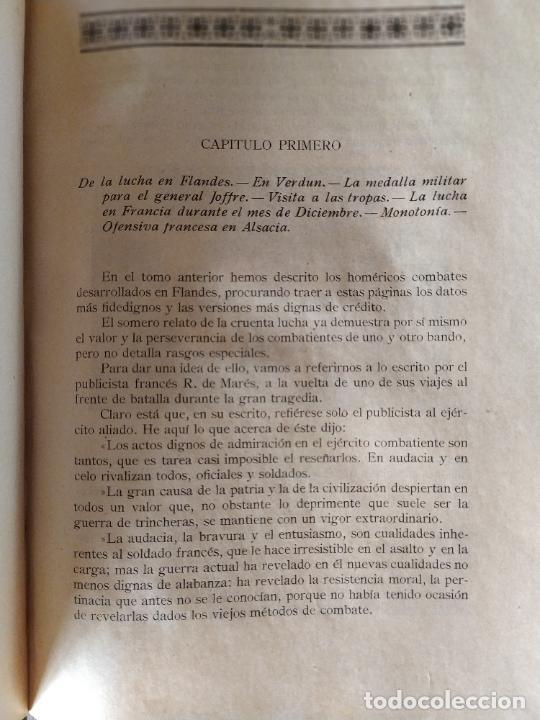 Libros antiguos: EPISODIOS DE LA GUERRA EUROPEA.TOMOS 1,2,3,4 JUAN PEREZ CARRASCO. BARCELONA. ALBERTO MARTÍN - Foto 11 - 201953936