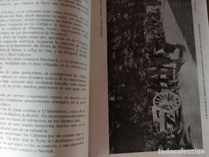 Libros antiguos: EPISODIOS DE LA GUERRA EUROPEA.TOMOS 1,2,3,4 JUAN PEREZ CARRASCO. BARCELONA. ALBERTO MARTÍN - Foto 14 - 201953936
