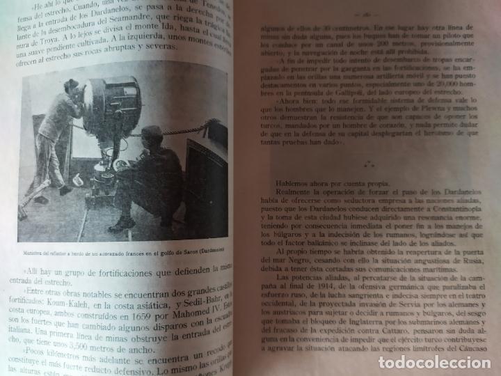 Libros antiguos: EPISODIOS DE LA GUERRA EUROPEA.TOMOS 1,2,3,4 JUAN PEREZ CARRASCO. BARCELONA. ALBERTO MARTÍN - Foto 15 - 201953936