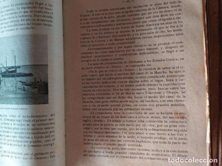 Libros antiguos: EPISODIOS DE LA GUERRA EUROPEA.TOMOS 1,2,3,4 JUAN PEREZ CARRASCO. BARCELONA. ALBERTO MARTÍN - Foto 17 - 201953936