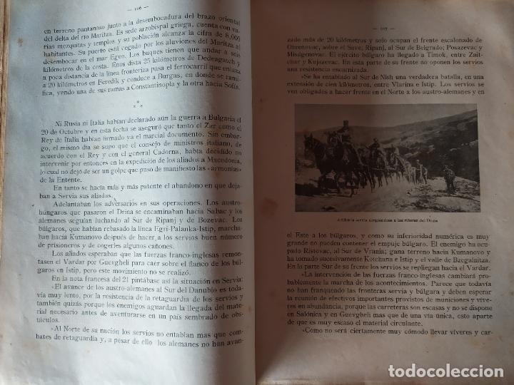 Libros antiguos: EPISODIOS DE LA GUERRA EUROPEA.TOMOS 1,2,3,4 JUAN PEREZ CARRASCO. BARCELONA. ALBERTO MARTÍN - Foto 19 - 201953936