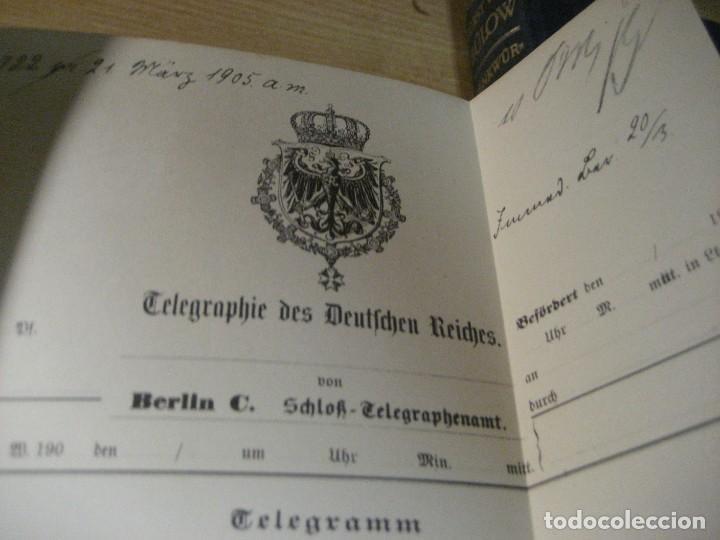 Libros antiguos: fúrst von bülow . denkwür digkeiten 3 tomos memorias documentos cartas facsímil año 1930 guerra mun - Foto 4 - 206940570