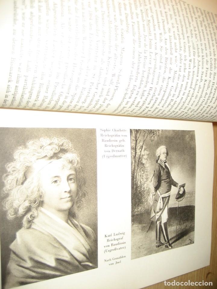 Libros antiguos: fúrst von bülow . denkwür digkeiten 3 tomos memorias documentos cartas facsímil año 1930 guerra mun - Foto 7 - 206940570