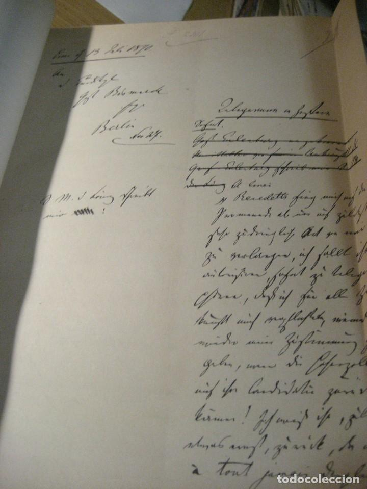 Libros antiguos: fúrst von bülow . denkwür digkeiten 3 tomos memorias documentos cartas facsímil año 1930 guerra mun - Foto 10 - 206940570
