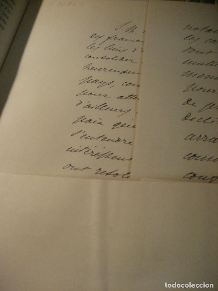 Libros antiguos: fúrst von bülow . denkwür digkeiten 3 tomos memorias documentos cartas facsímil año 1930 guerra mun - Foto 11 - 206940570