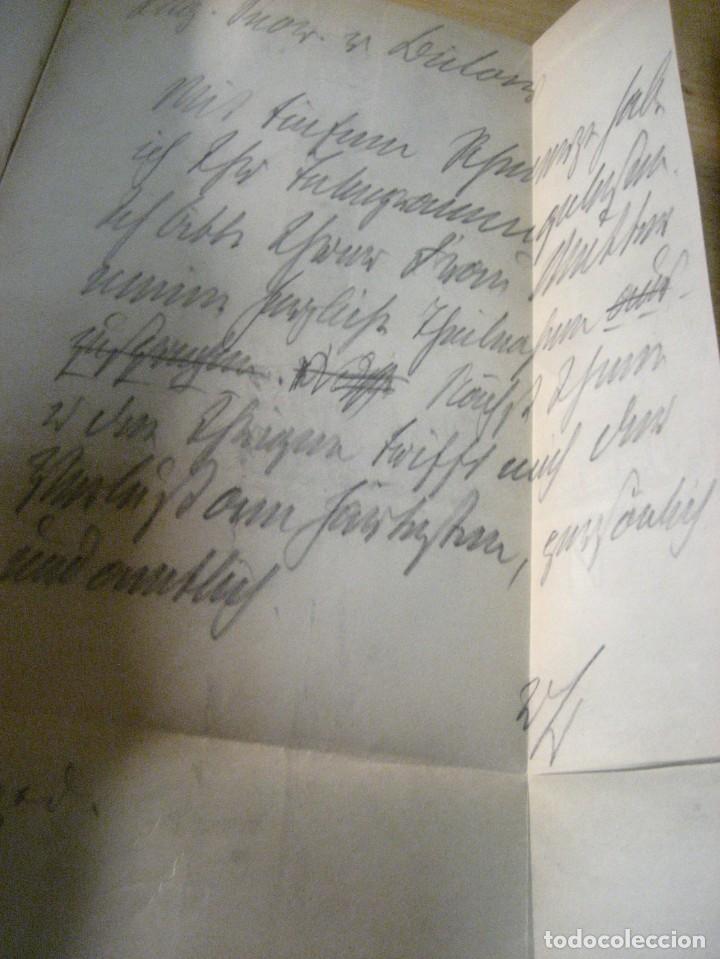 Libros antiguos: fúrst von bülow . denkwür digkeiten 3 tomos memorias documentos cartas facsímil año 1930 guerra mun - Foto 12 - 206940570