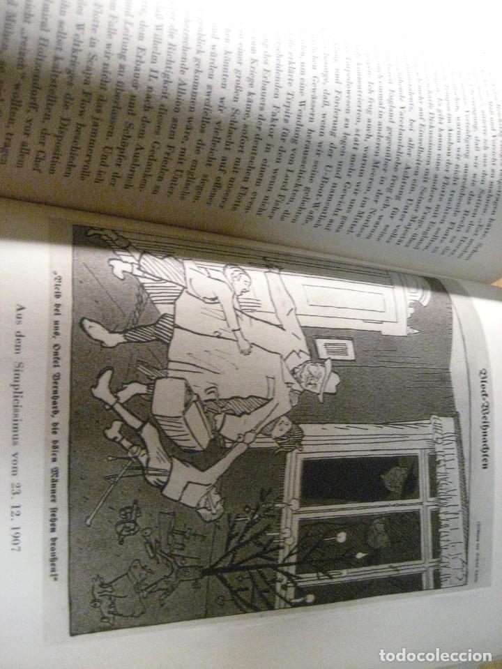 Libros antiguos: fúrst von bülow . denkwür digkeiten 3 tomos memorias documentos cartas facsímil año 1930 guerra mun - Foto 19 - 206940570