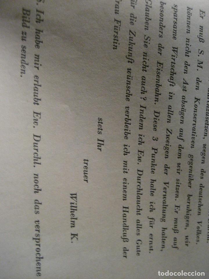 Libros antiguos: fúrst von bülow . denkwür digkeiten 3 tomos memorias documentos cartas facsímil año 1930 guerra mun - Foto 24 - 206940570