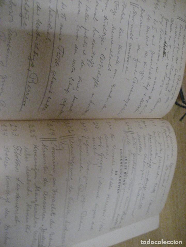 Libros antiguos: fúrst von bülow . denkwür digkeiten 3 tomos memorias documentos cartas facsímil año 1930 guerra mun - Foto 28 - 206940570