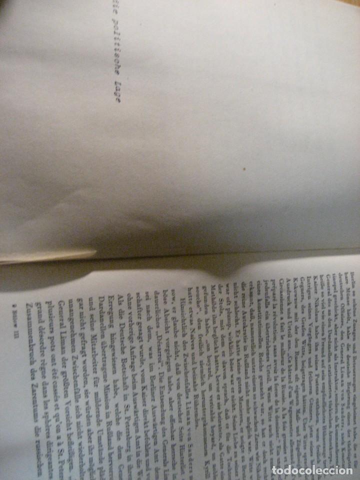 Libros antiguos: fúrst von bülow . denkwür digkeiten 3 tomos memorias documentos cartas facsímil año 1930 guerra mun - Foto 35 - 206940570