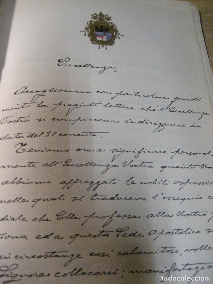Libros antiguos: fúrst von bülow . denkwür digkeiten 3 tomos memorias documentos cartas facsímil año 1930 guerra mun - Foto 39 - 206940570