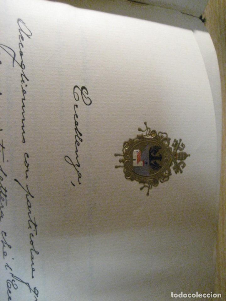 Libros antiguos: fúrst von bülow . denkwür digkeiten 3 tomos memorias documentos cartas facsímil año 1930 guerra mun - Foto 40 - 206940570