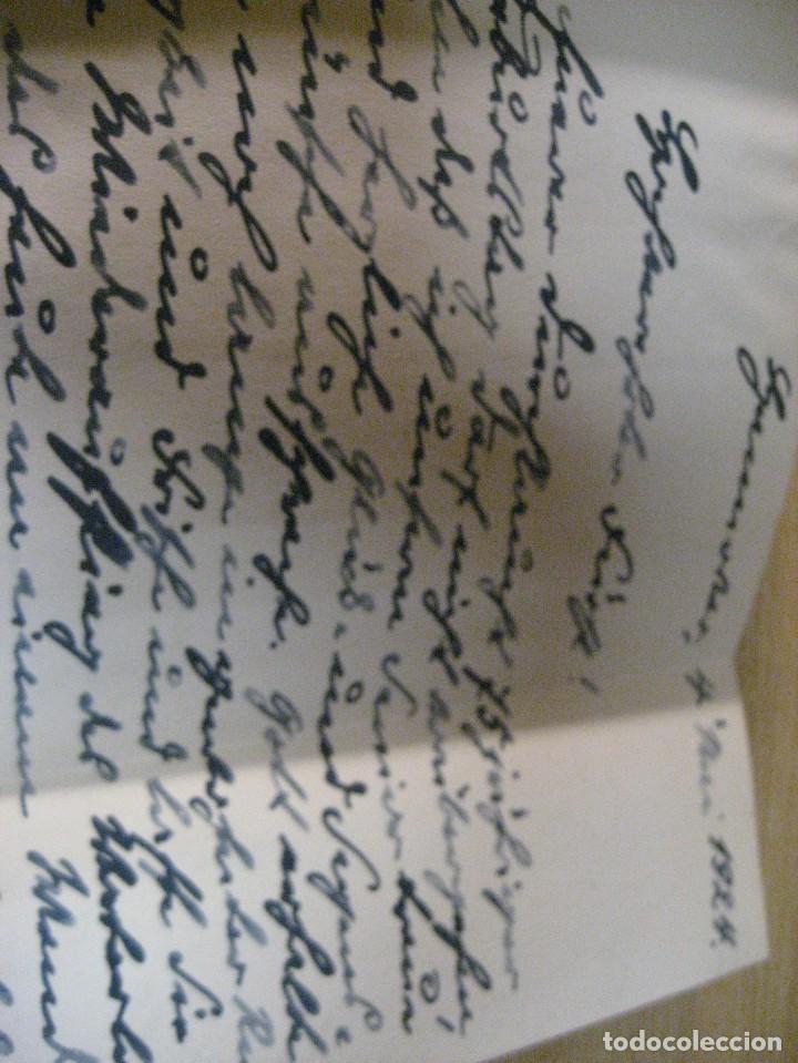 Libros antiguos: fúrst von bülow . denkwür digkeiten 3 tomos memorias documentos cartas facsímil año 1930 guerra mun - Foto 41 - 206940570
