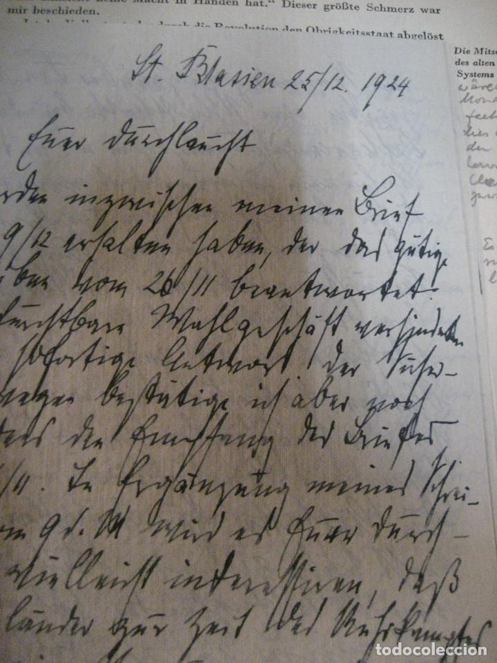 Libros antiguos: fúrst von bülow . denkwür digkeiten 3 tomos memorias documentos cartas facsímil año 1930 guerra mun - Foto 43 - 206940570