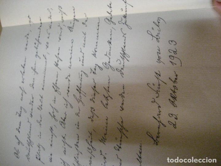 Libros antiguos: fúrst von bülow . denkwür digkeiten 3 tomos memorias documentos cartas facsímil año 1930 guerra mun - Foto 44 - 206940570