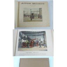 Libros antiguos: ALBUM MILITAIRE DE L'ARMEE FRANCAISE, EJERCITO FRANCES, 1895 APROX. POR BOUSSOD, VALADON ET CIE. ÉDI. Lote 207918155