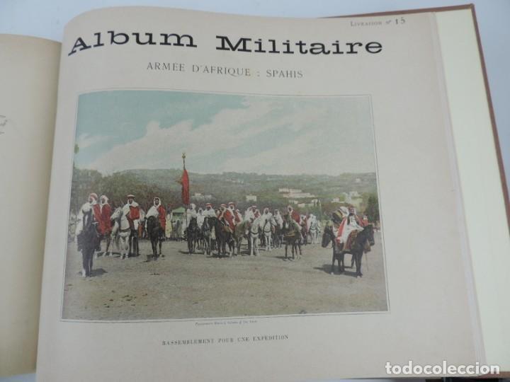 Libros antiguos: ALBUM MILITAIRE DE LARMEE FRANCAISE, EJERCITO FRANCES, 1895 aprox. Por Boussod, Valadon et Cie. Édi - Foto 8 - 207918155