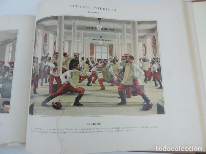 Libros antiguos: ALBUM MILITAIRE DE LARMEE FRANCAISE, EJERCITO FRANCES, 1895 aprox. Por Boussod, Valadon et Cie. Édi - Foto 9 - 207918155