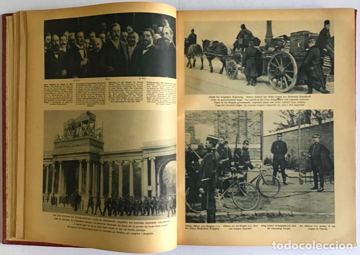 Libros antiguos: ILLUSTRIERTER KRIEGS-KURIER. Wochen-Ausgabe. Corriere della guerra. Courrier de guerre. - Foto 3 - 208661937